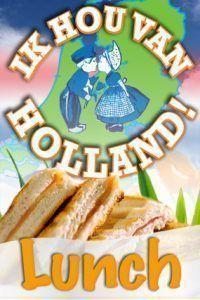 Ik Hou van Holland Lunch in Hoorn