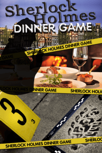 Sherlock Holmes Tablet Dinner Game in Hoorn