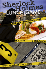Sherlock Holmes Tablet Lunch Game in Hoorn