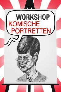 Workshop Komische Portretten tekenen in Hoorn